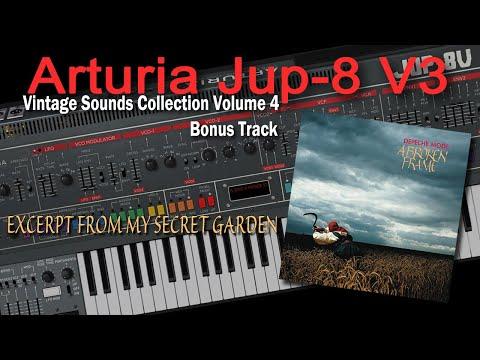 Arturia Jup-8 V Demo Depeche Mode - Excerpt From My Secret Garden