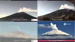 Popocatepetl - 20151219 - 06:00 A 11:59 Hrs