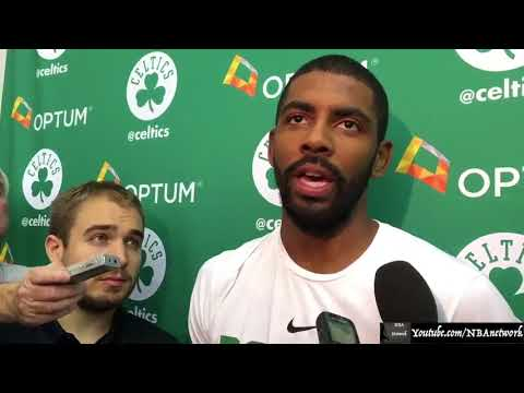 Kyrie Irving on saying