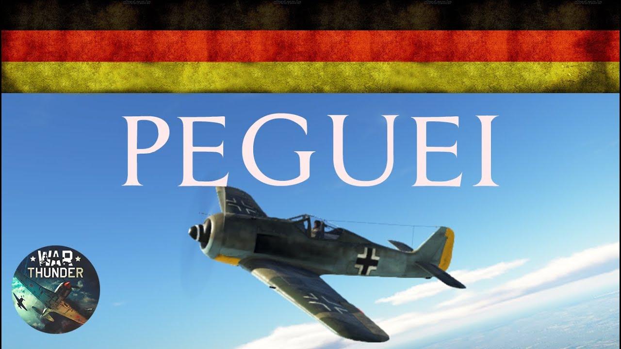Alemanha - Peguei Pregando | War Thunder #1