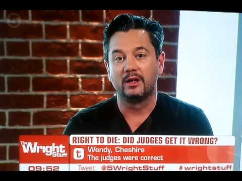 Huey Morgan FLC on Wright Stuff swearing