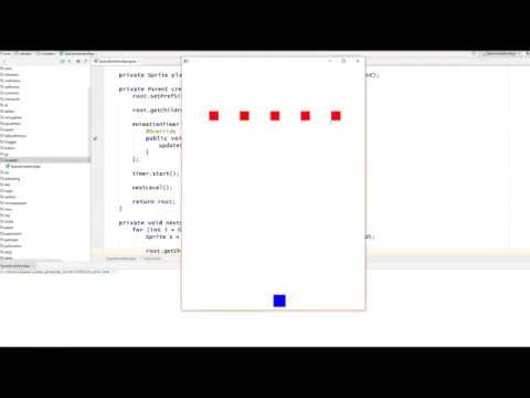 JavaFX Game: Space Invaders (for Beginners)