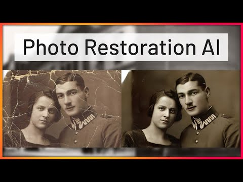 This AI Restores Old Photos with Damages Automatically!