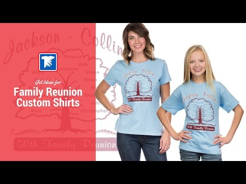Ideas for Family Reunion T-Shirts