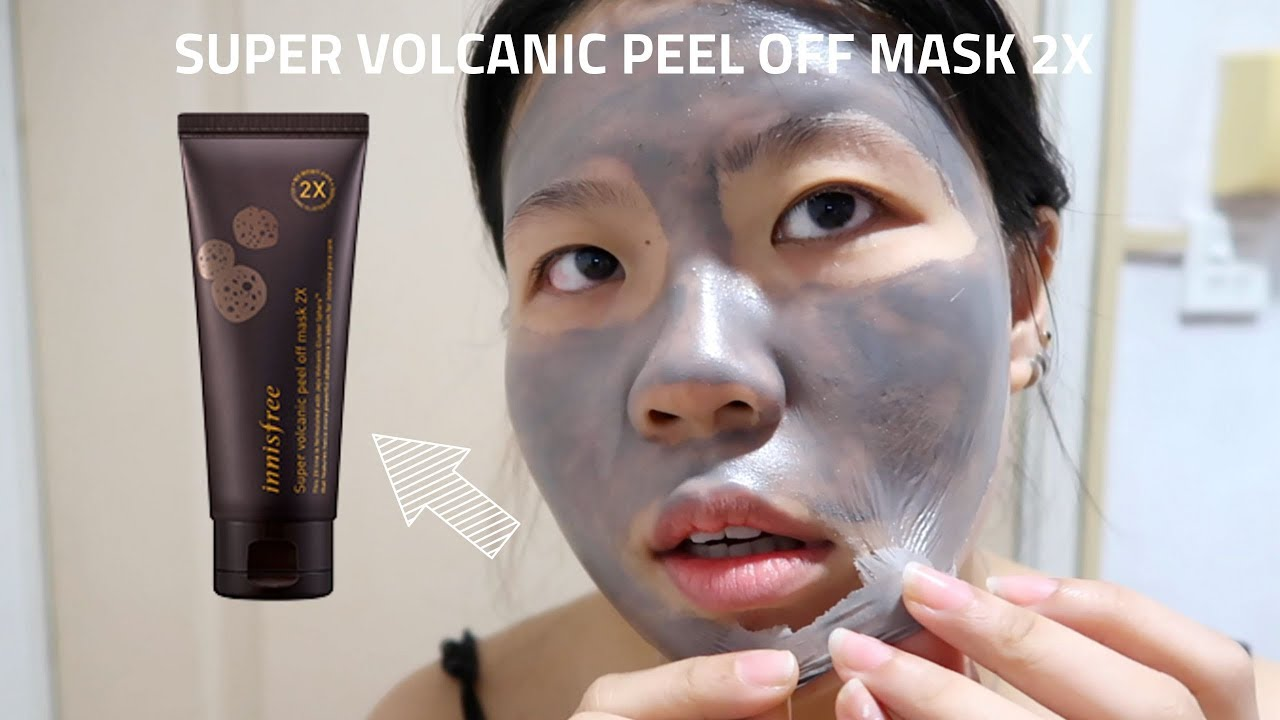 INNISFREE SUPER VOLCANIC PEEL OFF MASK 2X REVIEW