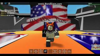 Jack Swagger Entrée Wrestlemania 'WWE Roblox'