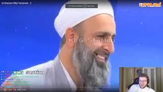 Efe Uygaç YAZIK KAFANA(İQ düşüren bilgi yarışması)izliyor-Gülmekten Yarılıyor