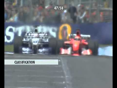 F1 Melbourne 2002 - Jarno Trulli vs Michael Schumacher vs Ju