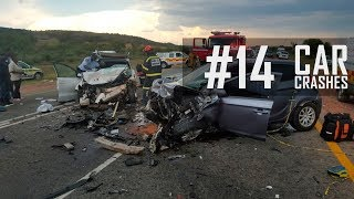 Horrific Head On Collisions Compilation #14