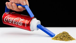 How To Make A Vacuum Cleaner From Coca Cola