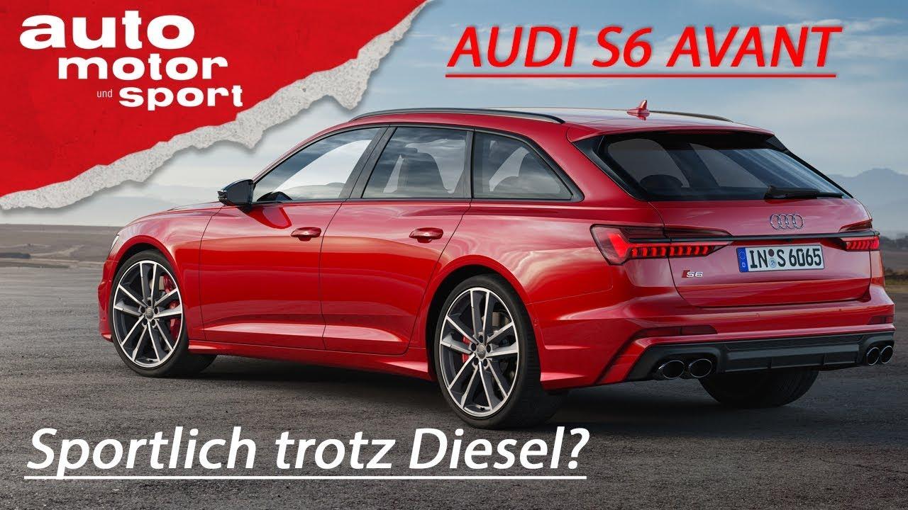 Audi S6 Avant (2019): Trotz Diesel immer noch ein S-Modell? – Vorfahrt | auto motor und sport