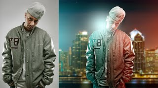 Photoshop Tutorial | How to do Photo Manipulation & Editing | Light Effects