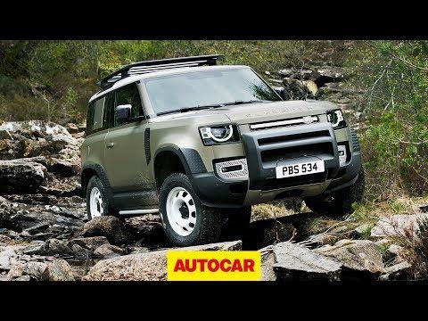 2020 Land Rover Defender revealed: detailed walk-around of rugged 4x4   Autocar