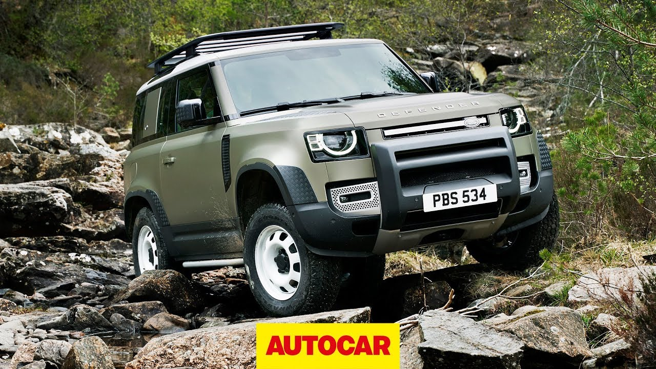 2020 Land Rover Defender revealed: detailed walk-around of rugged 4x4 | Autocar