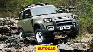 2020 Land Rover Defender revealed: detailed walk-around of rugged 4x4 | Autocar
