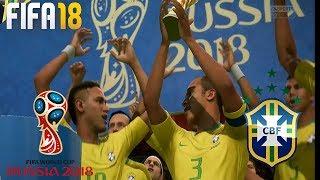 FIFA 18 World Cup Rússia DLC // Brasil x Espanha [Final] #07