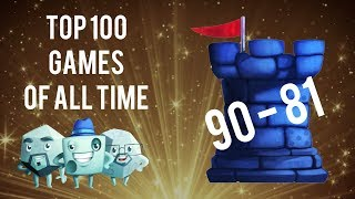 top 100 games of all time 90 81