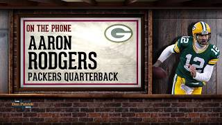 Packers QB Aaron Rodgers on The Dan Patrick Show   Full Interview   9/11/17