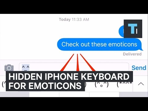 How To Download The IPhone Emoticon Keyboard