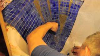 видео Мозаика для чугунных ванн