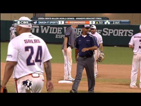 USSSA Men's Major World Series - Championship - Resmondo vs Smash It Sports