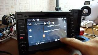 Сar dvd for hyundai i30 Android 3G WiFi CPU 1G 4GB Flash смотреть