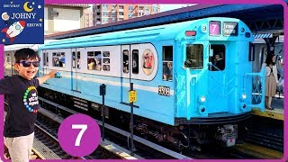 Johny's MTA Subway Train Ride To NYC MTA Subway Train Parade At Brighton Beach