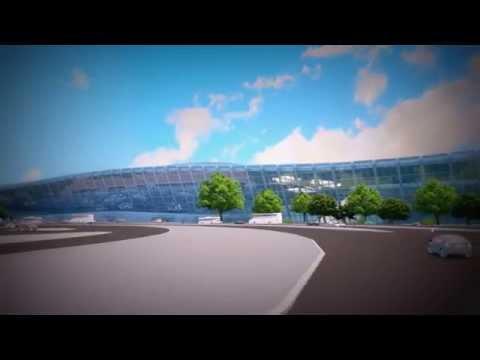 Heydar Aliyev International Airport Animation 2