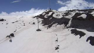 Climbing Mt Elbrus, Russia - 5642 [MIR TO GARA-BASHI] Video Camera Sony Hdr As20 vs GoPro Hero