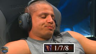 TYLER1 Goes 1-7 Against IMAQTPIE in an LCS Match !