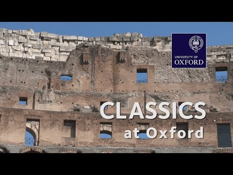 Classics at Oxford University