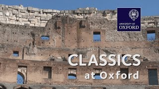 Classics at Oxford University