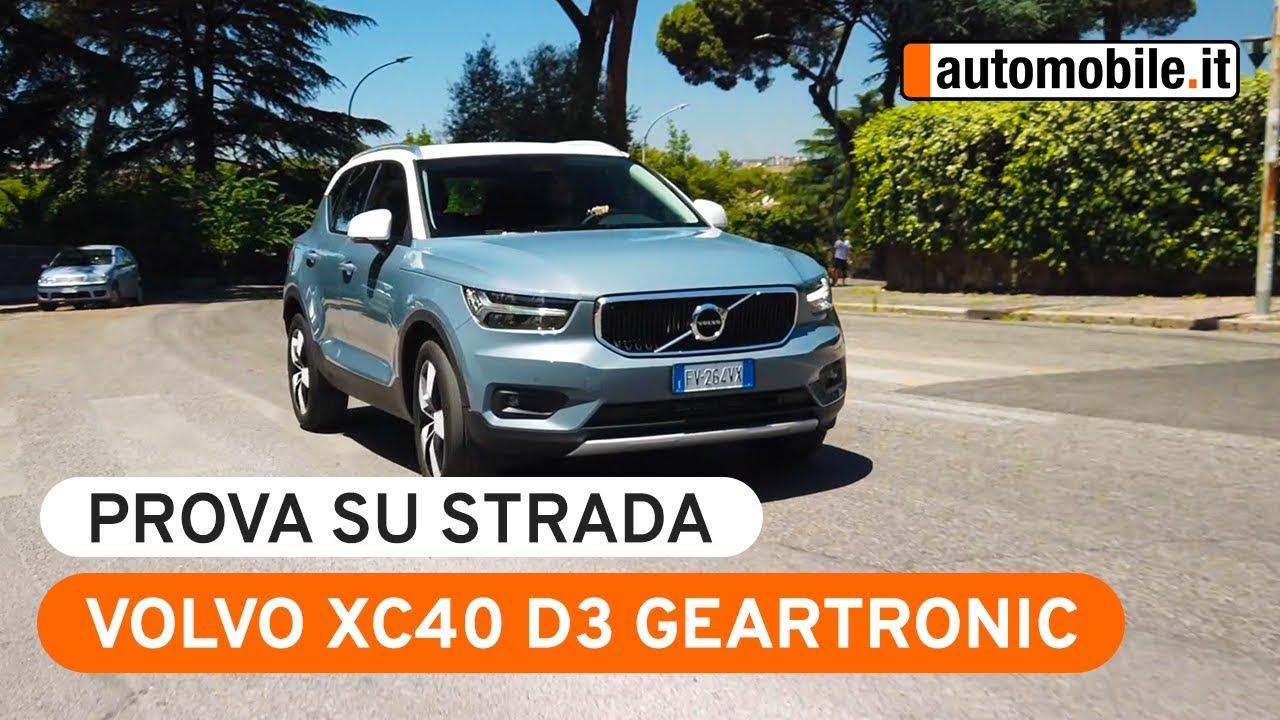 Volvo Xc40 D3 Geartronic Prova Su Strada