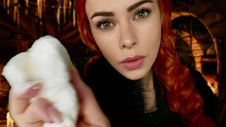 ASMR Sansa Stark Cares for you after Battle (Crackling Fire Place Sounds)
