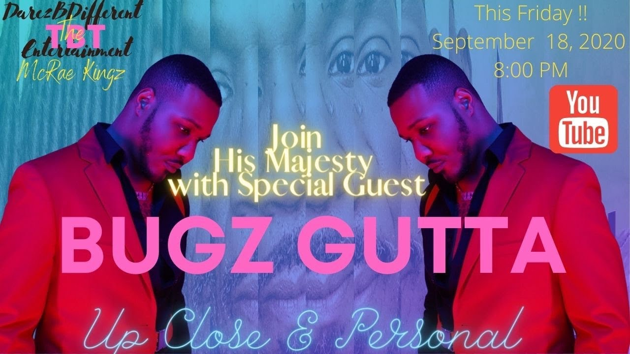 Up Close & Personal With His Majesty Feat.Bugz Gutta #talkshow #interview #conversation
