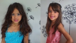 Makeup and Hairstyle for kids TUTORIAL Thumbnail