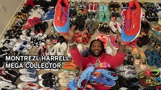 A tour of Montrezl Harrell's 2,000+ pairs of shoes collection