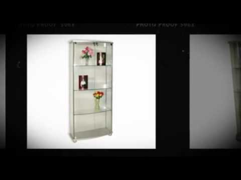 Glass Curio Cabinets Glass Display Cabinets