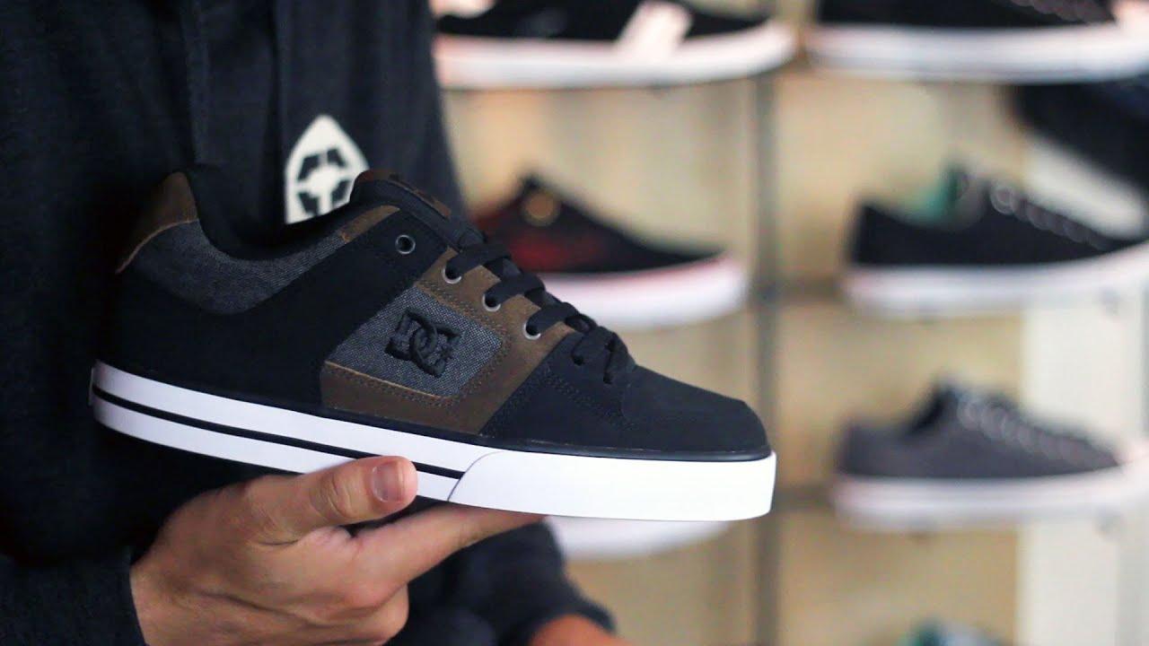 DC Pure SE Skate Shoes Review - Tactics