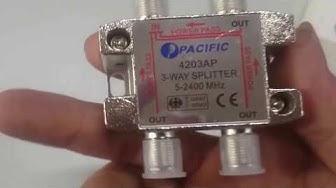 Bộ chia truyền hình cáp PACIFIC 4203AP