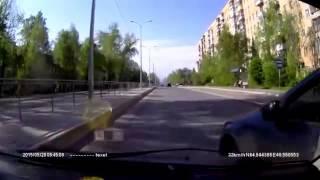 ДТП Архангельск. Псих 20 05 2015(ДТП в Архангельске. Псих на