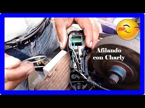 Como afilar y calibar una maquina de corte de pelo (Remasterizado )