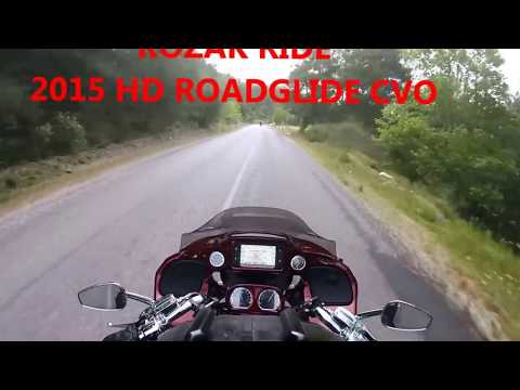 2015 Harley Davidson Road Glide CVO - Nature Ride in Turkey