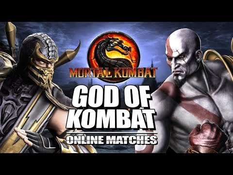 GOD OF KOMBAT: Kratos - Mortal Kombat 9 Tag Matches