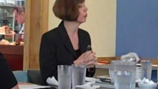 Dane County Executive Kathleen Falk at Market Street Diner