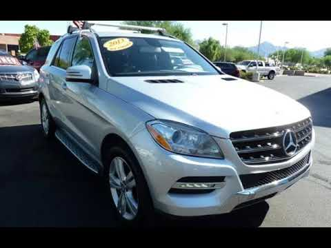 2013 Mercedes-Benz ML 350 for sale in SCOTTSDALE, AZ