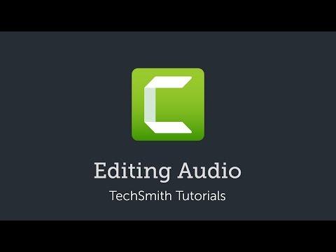 Camtasia 9/3: Editing Audio