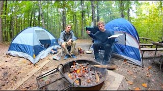 Camping with Johnny!
