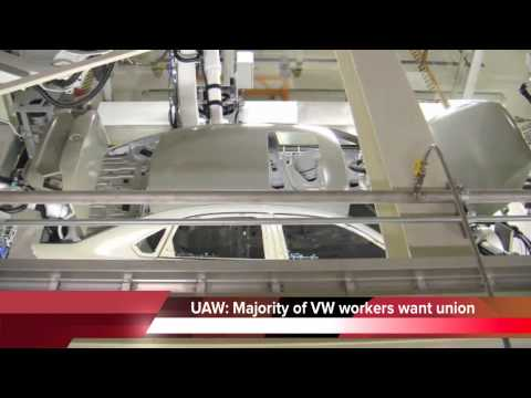 UAW: Most Chattanooga Volkswagen workers want a union