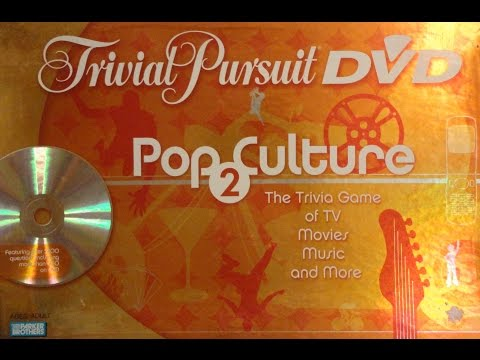 What's Inside - Trivial Pursuit DVD Pop Culture 2 Board Game (Parker Brothers)